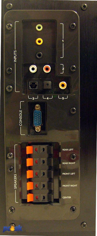 sub amp pripojiť